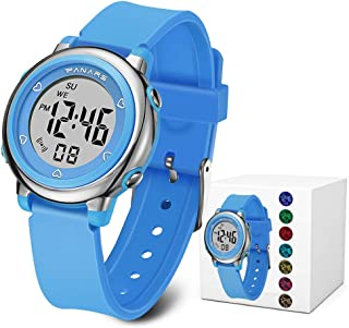 Kids Digital Watches, Boys Girls Sports Outdoor 50m...