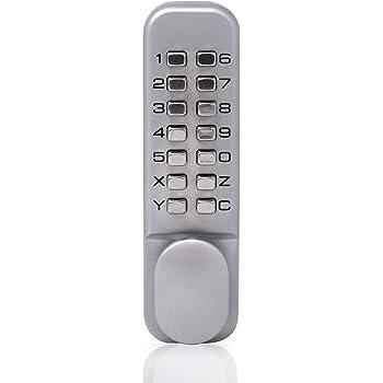 Ftvogue Digit Keypad Door Lock Push Button Coded Lock Password Dead Bolt Amazon Co Uk Kitchen Home