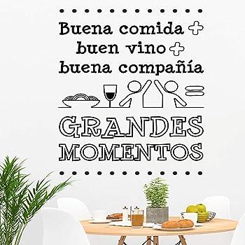 Docliick® Frase Vinilo para cocina o restaurante