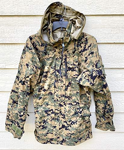 Best Bargain Us Marines Gen II Apecs Gore Tex Digital Marpat Cold Weather Parka - Small Long.