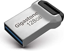 Gigastone 128GB USB3.1 Flash Drive, Durable Metal Waterproof Design Pen Drive, Reliable Performance & Durable (Factory Re-Marking Edition, New Un-Used)
