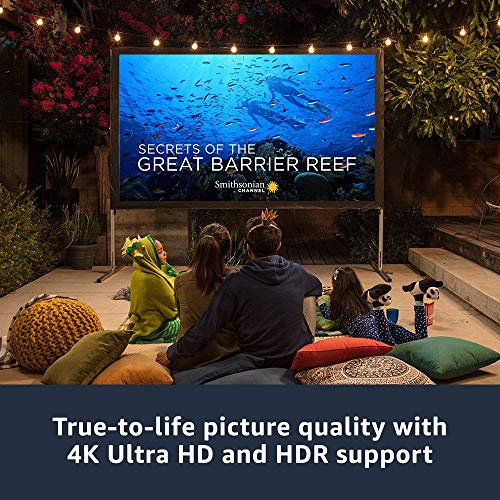 Fire TV with 4K Ultra HD and 1st Gen Alexa Voice Remote, streaming media player