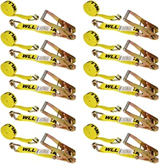 CargoLoc 84001 6-Foot Extreme Heavy Duty Ratchet Tie Downs 2-Pack Allied International