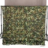 Ginsco 6.5ft x 10ft 2mx3m Woodland Camouflage Netting Desert Camo...
