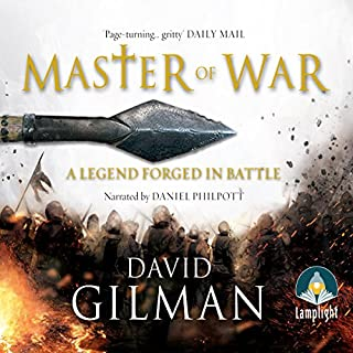 Master of War                   By:                                                                                                                                 David Gilman                               Narrated by:                                                                                                                                 Daniel Philpott                      Length: 16 hrs and 43 mins     278 ratings     Overall 4.5
