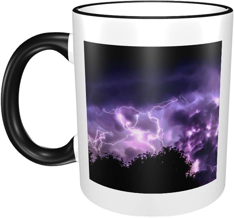 Lightning Ranking TOP3 11oz Ranking TOP20 Large Coffee Mugs Print Exqui Ceramics Sturdy Cup