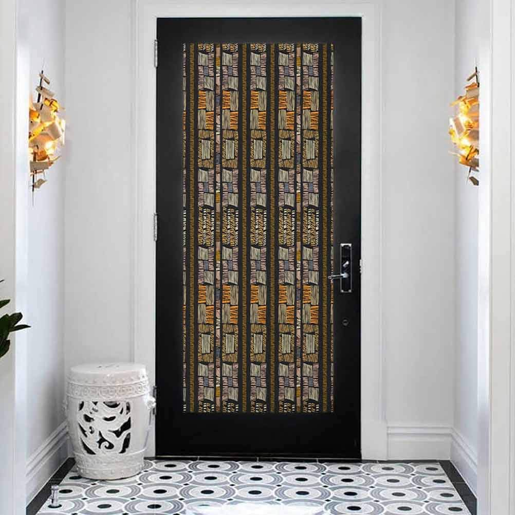 Inexpensive 3D Door Wallpaper Murals Wall Bohemia Zambia Outlet sale feature Authentic Stickers