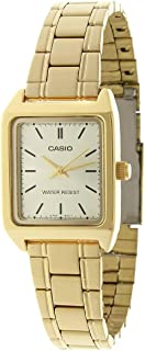 Casio Women White Dial Stainless Steel Band Dress Watch - LTP-V007G-9EUDF