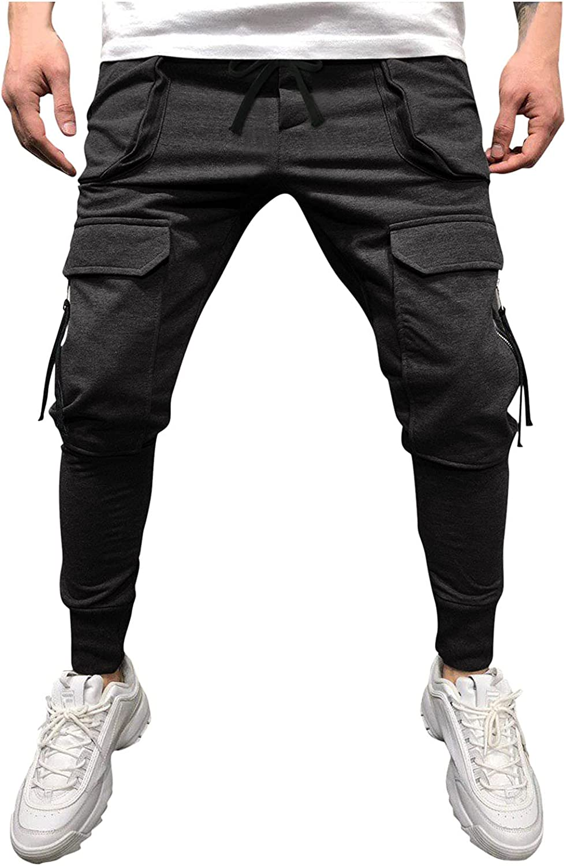 ZDFER Men's Trousers Mid-Waist Skinny Arlington Mall Casual C Pants Suit Sale Sports