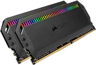 Corsair Dominator Platinum RGB 32 GB (2 x 16 GB) DDR4 3466 (PC4 27700) C16 1, 35 V, Schwarz