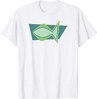 Christian Fish - Mid Century Modern Christianity T-Shirt