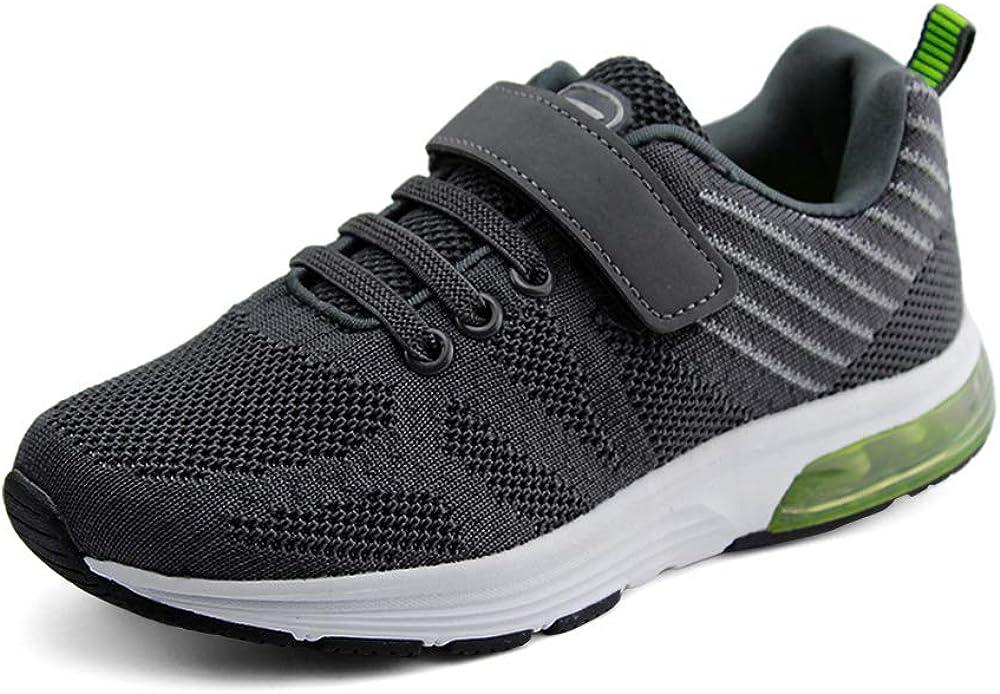 JABASIC Kids Lightweight Air Cushion Running Shoes Boys Girls Athletic Sneakers