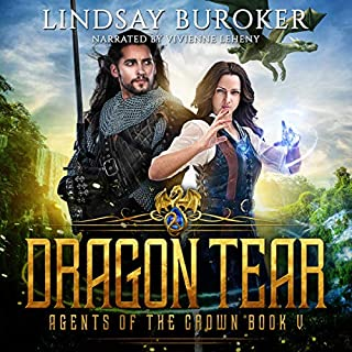 Dragon Tear      Agents of the Crown, Book 5              By:                                                                                                                                 Lindsay Buroker                               Narrated by:                                                                                                                                 Vivienne Leheny                      Length: 9 hrs and 36 mins     Not rated yet     Overall 0.0