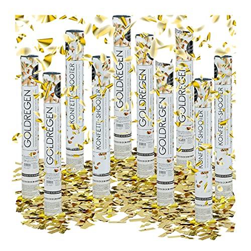 Relaxdays – Conjunto de 10 cañones de Confeti,...