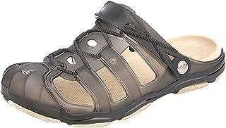 ANUFER Men's Odorless EVA Jelly Shoes Casual Summer Sandal Slippers