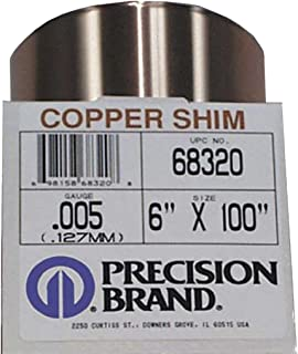 0.25 Thickness 110 Copper Sheet ASTM B152 Mill 12 Width Finish H02 Temper 12 Length Unpolished