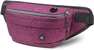 LUKATU Fanny Pack Waist Bag Adjustable Strap Hiking Packs Shiny Casual Belt Bags Traveling Outdoors