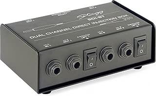 Stagg SDI-ST 2-Channel Passive DI Box with Mono/Stereo Switch