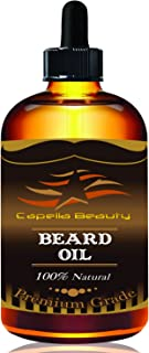 1oz : Beard Oil for Men – Grooms Beard, Mustache, boosts hair growth. Makes your Beard soft, smooth, healthy and mess-free. Moisturizes coarse hair, stops skin itches, 100% natural. (1oz)