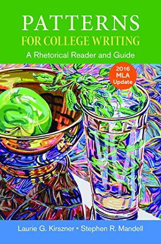 Patterns for College Writing with 2016 MLA Update