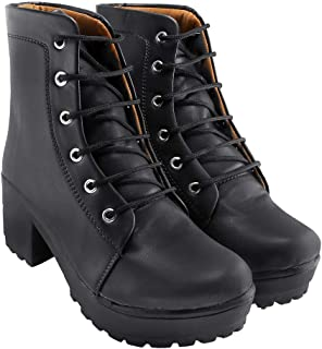 Blinder Womens Lace-Up Long Boots