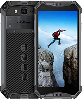 """Ulefone Armor 3W Rugged Cell Phone Unlocked, Rugged Phones Outdoor Android 9.0 IP68 5.7"""" Helio P70 64GB+6GB 10300mAh 4G Du..."""