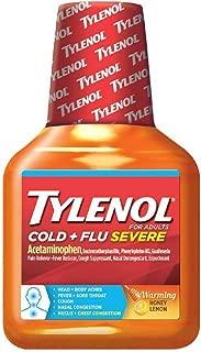 Tylenol Cough Warming Daytime Liquid - Honey Lemon 8 fl oz