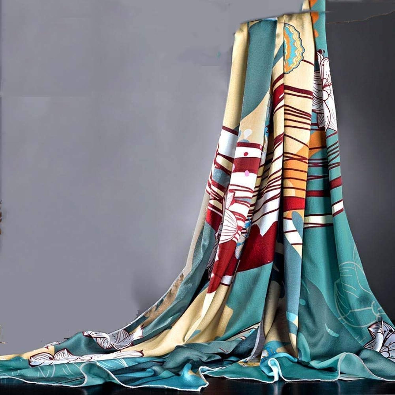 Weiwei Ladies Silk Shawl Silk Scarf Scarves Send Mother 200cm65cm