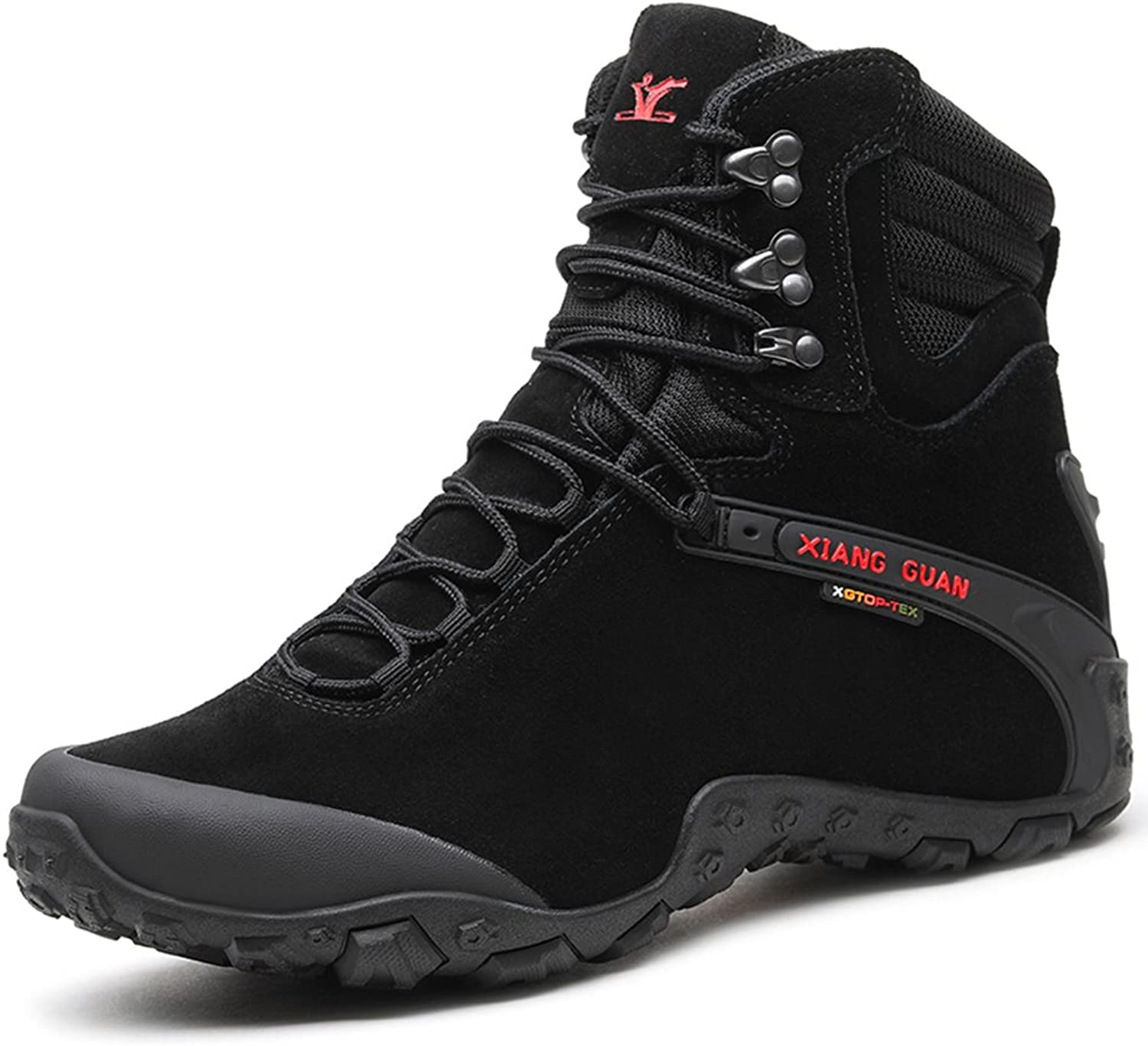 Topway Women Safety Boots Tactical Combat Sports Non-slip Boots Waterproof shoes (Black, 37)