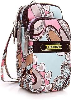 whatUneed Sacchetto del raccoglitore del sacchetto di spalla del telefono mobile del sacchetto del Crossbody del signore, ...