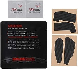 NIANNIAN Original Hotline Games Patines para ratón Pegatinas Laterales Almohadillas Resistentes al Sudor Cinta Antideslizante para Roccat Kone Pure Mouse