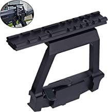 jkbfyt Heavy Duty Tactical Picatinny Side Rail Scope Mount Detach Rail Base for 20mm Weaver Scope