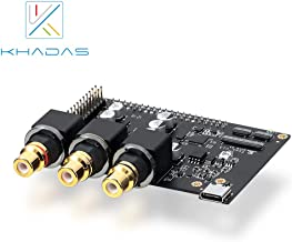 Khadas Tone Board High Resolution Audio Board for Khadas VIMs, PCs and Other SBCs (VIMs Eedtion)