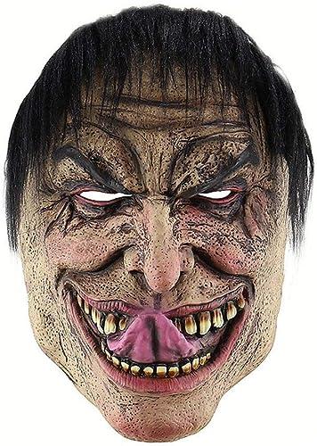 productos creativos Cosplay Wretched Man Smiley Payaso Horror Disgusting Demon Máscara de de de látex Fiesta de Carnaval de Halloween Máscara para Adultos Accesorios Accesorios  perfecto