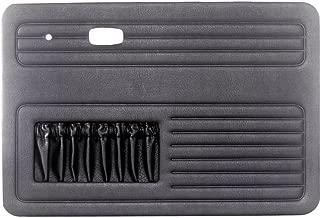 Empi 00-4854-0 VW Bug, Beetle, 4-Piece Universal Door Panel Kit, Type 1, 65-77, Black (Exc. Conv.)