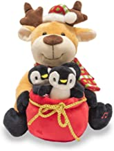 Cuddle Barn Christmas Animated Singing Dancing Light Up Rudy & the Jingles