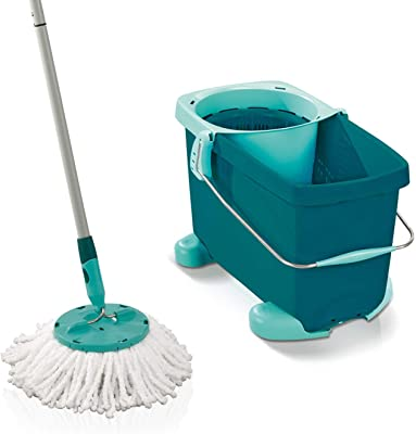 Leifheit CLEAN TWIST System Mop including rolling cart