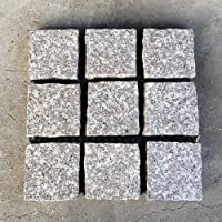 石畳 ピンコロかんたんマット 約300×300×20(mm) 1枚 珊瑚色