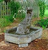 Garden Fountain, Cast Stone,tuscan Artesian Well, Patio & Outdoor...
