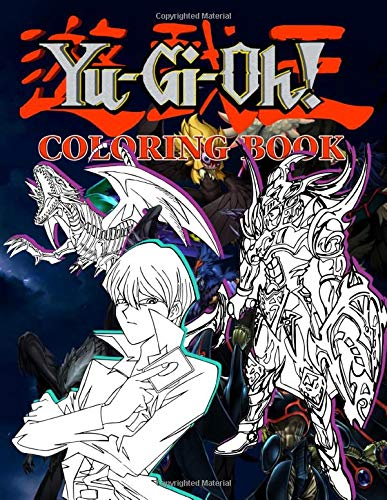 Yugioh Coloring Book: Anxiety Yugioh Coloring Books For Adults And Kids Unofficial