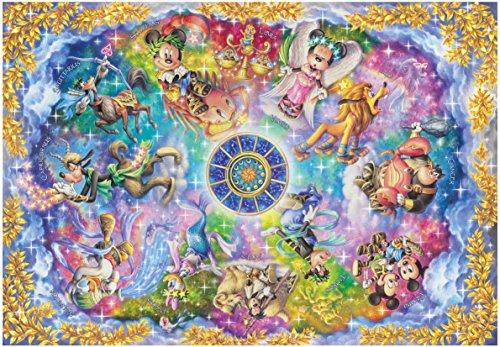 1000ピース ジグソーパズル ディズニー 美しき神秘の星座たち【ステンドアート】(51.2x73.7cm)