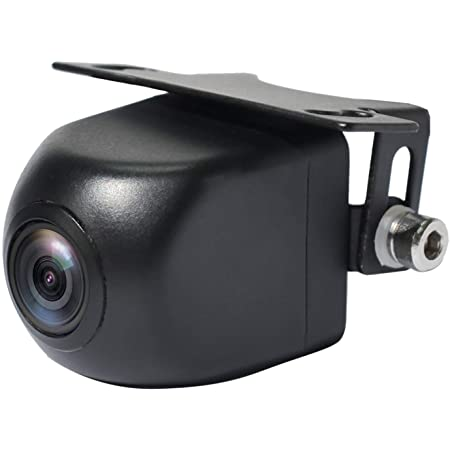 PARKVISION マルチビューバックカメラ フロントカメラ 水平180°垂直120°広角レンズ hd CMOSセンサー採用 60万画素数 6種類のマルチ表示画面 夜でも見える ガイドライン調整 正像鏡像切替 ガイドライン有り無し切替 角度調整可能 IP69K防水防塵 12V車汎用 一年保証期間「SW-190」