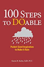 100 Steps to DOable: Pocket-Sized Inspiration to Make It Rain