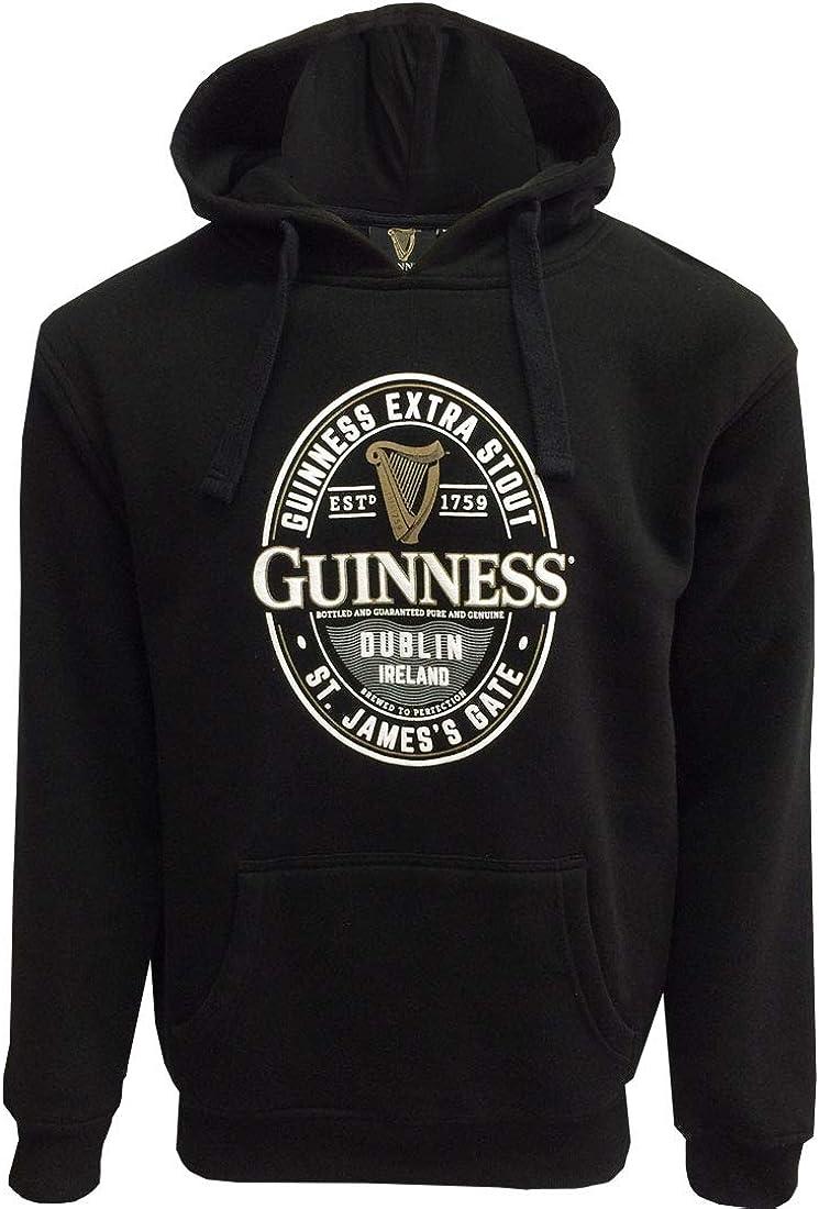 Guinness Black Label St. James Gate Hoodie