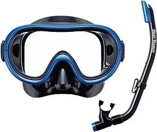 REEF TOURER(REEF TOURER) 浮潜 浮潜 面罩 儿童用 2件套 硅胶制 4-9岁 RC0202