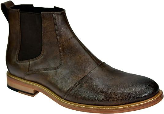 Mens Cavani Italiano Designer Oxford Genuine Real Leather Shoes Formal Smart