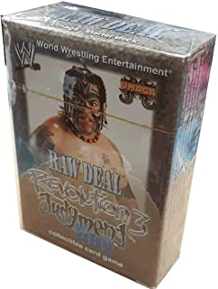 WWE Raw Deal Revolution 3 Judgment Day Umaga Starter Deck
