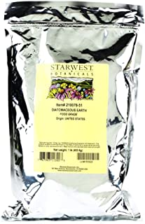 Starwest Botanicals Diatomaceous Earth Supplement, 1 Pound
