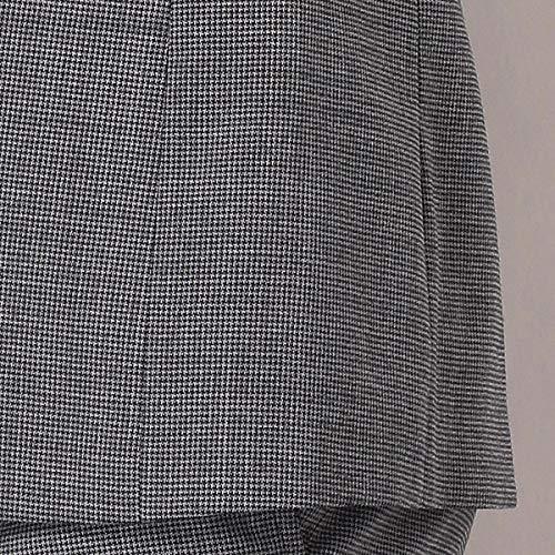 スーツセレクト(メンズ)(SUITSELECT)2釦シングルスーツ0タック/千鳥格子/シャワークリーン【SLIMTAPERED2】【ブルー/A7】