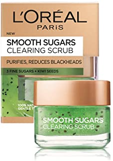 L'Oreal Paris Pure Sugar Scrub Purify & Unclog, 1.7 oz.